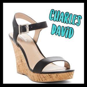 🔥NWT🔥Charles by Charles David cork wedge sandals